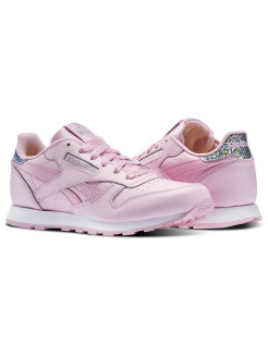 Кроссовки CLASSIC LEATHER PAS CHARMING PINK/WHITE Reebok