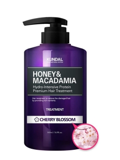 "Кондиционер для волос ""Honey & Macadamia Hair Treatment"" CHERRY BLOSSOM Kundal"