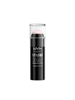 Стик иллюминатор для стробинга. STROBE OF GENIUS HOLOGRAPHIC STICK - PINK 01 NYX PROFESSIONAL MAKEUP