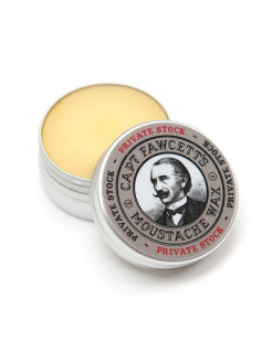 Воск для усов Private Stock 15 мл CAPTAIN FAWCETT