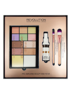 Набор для макияжа Amplified Sculpt & Fix MakeUp Revolution