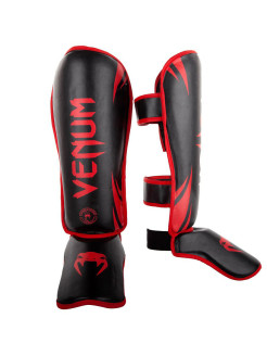 Щитки Challenger Neo Black/Red Venum