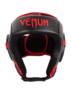 Шлем боксерский Challenger 2.0 Open Face Neo Black/Red Venum