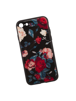 Чехол для iPhone 7 WK Azure Stone Series Glass Protective Case (садовые розы) Liberty Project