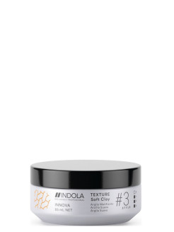 Глина для волос INDOLA TEXTURE Soft Clay # 3 hold, 85 мл INDOLA