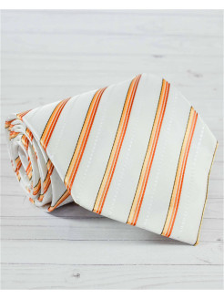 Tie silk orange color FABEER-CASTELL