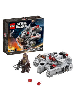 Микрофайтер Сокол Тысячелетия Star Wars TM 75193 LEGO