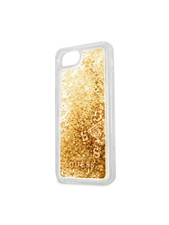 Чехол Guess для iPhone 7/8 Glitter Hard PC Gold GUESS