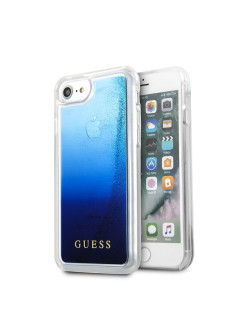 Чехол Guess для iPhone 7/8 Glitter Hard PC Blue GUESS