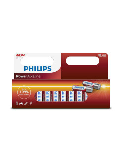 Батарея Power Alkaline LR6P12W АА Philips