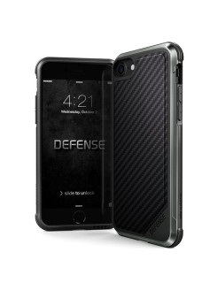 Чехол X-Doria Defense Lux для iPhone 8/7 Black Carbon x-doria