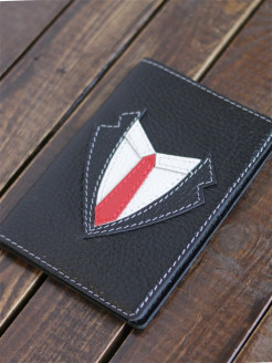Men's Passport Cover Gentleman Luck Leather Handmade VERMAX