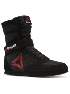 Сникеры BOXING BOOT- BLACK/WHITE Reebok