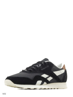 Кроссовки CL NYLON P BLACK/CHALK Reebok