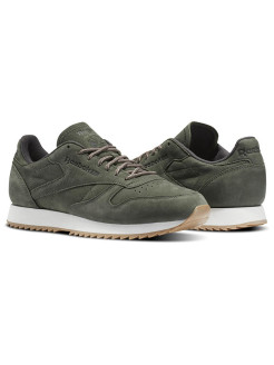 Кроссовки CL LEATHER RIPPLE W HUNTER GREEN/URBAN G Reebok