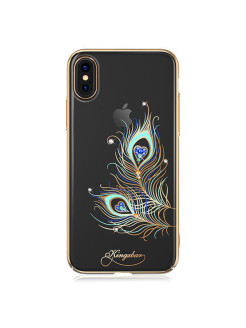 Чехол с Swarovski Kingxbar Exquisite Series для iPhone X Feather Kingxbar