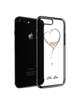 Чехол с Swarovski Kingxbar Starry Sky Black для iPhone 8 Plus / 7 Plus Heart Kingxbar