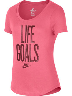 Футболка G NSW TEE SCOOP LIFE GOALS Nike