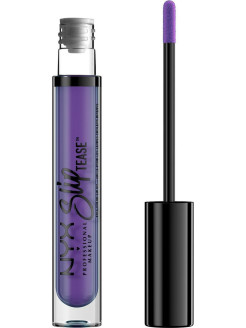 Тонирующее масло для губ.  SLIP TEASE FULL COLOR LIP OIL - FEISTY 07 NYX PROFESSIONAL MAKEUP