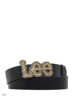 Ремень BIG LEE LOGO BELT BLACK LEE