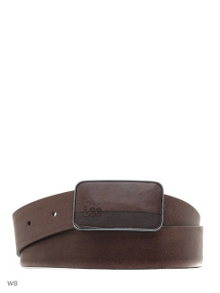Ремень SQUARE BUCKLE BELT 2 DARK COGNAC LEE