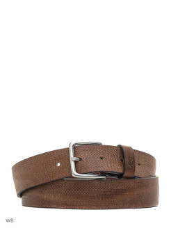 Ремень STRUCTURED BELT DARK COGNAC LEE