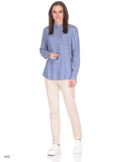 Рубашка ONE POCKET SHIRT DELFT BLUE LEE