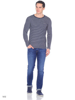 Лонгслив STRIPE PKT SWS NAVY DROP LEE