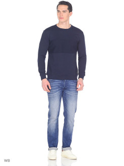 Свитер BLOCKING SWEATSHIRT NAVY DROP LEE