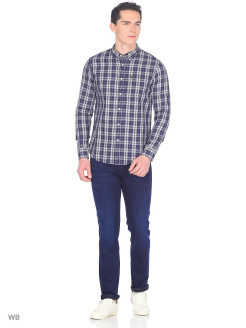 Рубашка LEE BUTTON DOWN NAVY DROP LEE
