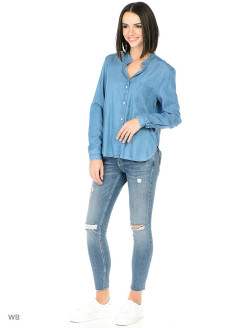 Рубашка TENCEL SHIRT LIGHT INDIGO Wrangler