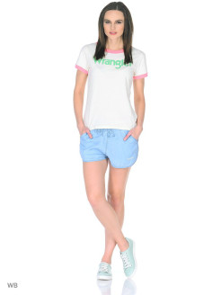 Шорты TENCEL SHORT BLEACH Wrangler