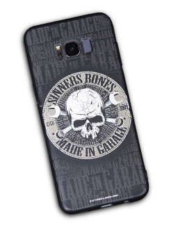 "Чехол для смартфона SAMSUNG S6 ""MADE in GARAGE"" SINNER's BONES"
