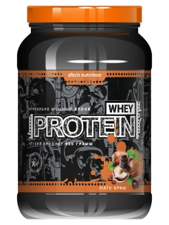 Протеин Whey Protein 100% (натс крим), 900 г. aTech nutrition