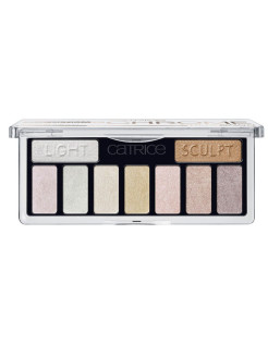 Тени для век 9 в 1 The Ultimate Chrome Collection Eyeshadow Palette 010 хром CATRICE.