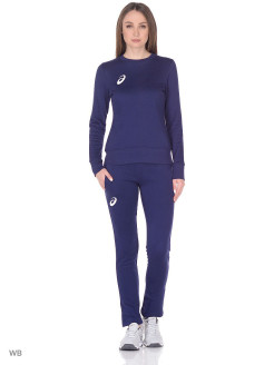 Костюм спортивный(куртка+брюки) WOMAN FLEECE SUIT ASICS