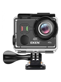 Экшн камера EKEN H5S BLACK Ultra HD 4K 30 fps 1080 100 fps EIS TouchScreen Артикул:H5S BLACK EKEN
