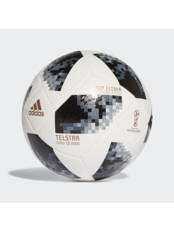 Мяч WORLD CUP TGLID white,black,silver met. Adidas