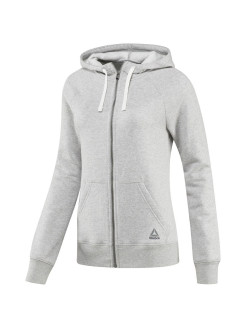 Толстовка EL FL FULL ZIP medium grey heather Reebok