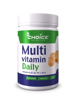 Комплекс витаминов Multivitamin Daily, 90 табл MyChoice Nutrition
