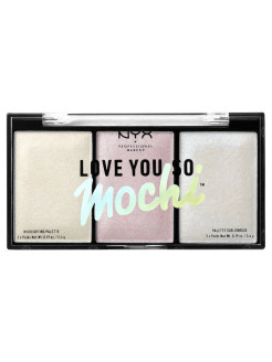 Палетка хайлайтеров. LOVE YOU SO MOCHI HIGHLIGHTING PALETTE - Arcade Glam 02 NYX PROFESSIONAL MAKEUP