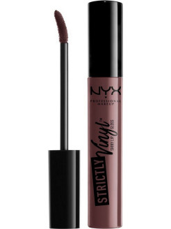 Блеск для губ. STRICTLY VINYL LIP GLOSS - Baby Doll 02 NYX PROFESSIONAL MAKEUP