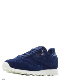 Кроссовки CL LEATHER MCC BLUE/CHALK Reebok