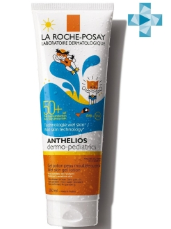 Гель для детей ANTHELIOS DERMO-PEDIATRICS ВЕТСКИН SPF 50+, 250 мл LA ROCHE-POSAY