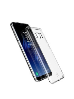 Чехол-накладка Samsung Galaxy S8 Baseus Simple Transparent BASEUS
