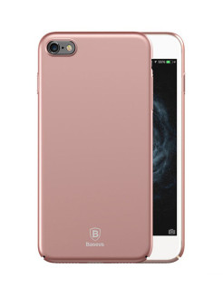 Чехол-накладка Apple iPhone 6 / 6S Baseus Thin Rose Gold BASEUS