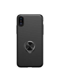 Чехол-накладка Apple iPhone X Baseus Ring Case Black BASEUS