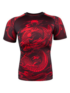 Рашгард Dragon's Flight Black/Red S/S Venum