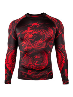Рашгард Dragon's Flight Black/Red L/S Venum