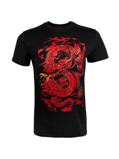 Футболка Dragon's Flight Black/Red Venum